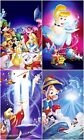 DISNEY CLASSIC MOVIE POSTERS WALL ART CANVAS PICTURE PRINT VARIOUS SIZES
