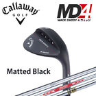 [NEW] CALLAWAY GOLF JAPAN MACK DADDY 4 WEDGE Matted Black 2017 MODEL 081711