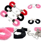 Plush Handcuff Slave Hand Restraints Toys Roleplay Game Club Costume SM Tools