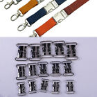 5pcs Side Release Buckles Metal Clips For Bags Straps Hiking Paracord Bracelet