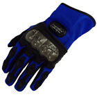 CARBON FIBER BLUE DIRT RACING BIKE DUNE BUGGY BMX SPORTS PROTECTIVE GLOVES GL02