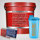 Scitec Nutrition 100% Whey Protein Professional (WPP) 5000g + Shaker+ Proben