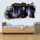 DC Characters Vinyl Smashed Wall Art Decal Stickers Bedroom Boys Girls 3D