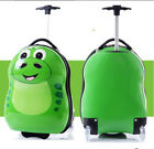 Kids Boys Girls Character Hard Shell Travel Luggage Cabin Suitcase Trolley Bag