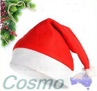 20PCS 40PCS 60pcs Adult Xmas Hats Red Bulk Caps Santa Novelty Christmas Party