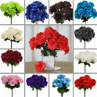 84 Silk CHRYSANTHEMUMS Ball Flowers Wedding Bouquet Party Centerpieces Wholesale