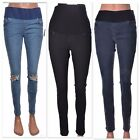 Jamie skinny jeans MATERNITY soft over bump or under bump band Size 8 10 12 14