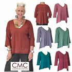 CMC by COLOR ME COTTON USA  3269  Supima Jersey  GODET BACK TEE  Top 2017 FALL $31.93 USD on eBay