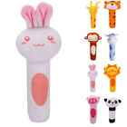 Soft Cute Sound Animal Handbells Plush Squeeze Rattle Newborn Baby Toy Kids Gift