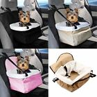 Travel Folding Dog Cat Pet Safety Belt Cover Puppy Booster Car Carrier Seat Bag