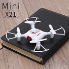 Syma X21 2.4G RC Quadcopter 6 Axis Gyro Mini Drone Headless 3D Flip Roll US Ship