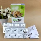 Bayer Drontal for Cats Kitten (2-40 Tablets) Tapeworm Dewormer 100% USA Seller