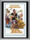 The Man With The Golden Gun A1 To A4 Size Poster Prints $17.95 AUD on eBay