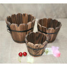 Various Wooden Planter Box Garden Flower Succulent Herb Container Plant Pot