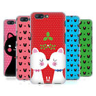 HEAD CASE DESIGNS CHRISTMAS CATS SOFT GEL CASE FOR ONEPLUS 5