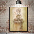 Buddha Oil Painting Art Poster Canvas Picture Print Hangings Home Wall Decor Us
