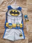 DC Comics Batman Baby Boys Tank Top and Shorts Outfit Set Size 12,24 Months