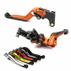 GAP Extendable Brake Clutch levers for MV Agusta F3 675 13-16 F3 800 14 15 16