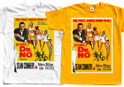 JAMES BOND Dr. No (1962r.) Movie ver. 1 T-Shirt (White, yellow) S-5XL $18.0 USD on eBay