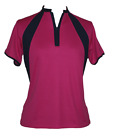 BNWT, Pink & Navy Ladies Golf Shirt, FREE SHIPPING!