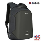 Anti-Thief Waterproof USB Charge Laptop Backpack Anti-theft Shoulder Bag 16''