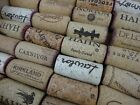 NATURAL Used Wine Corks Lots 1 5 10 20 30 40 50 Recycled Crafts Wall Art Type B