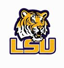 LSU Tigers College Football NCAA Color Sports Decal Sticker-Free Shipping