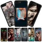 Attack On Titan Soft Rubber Shockproof Phone Case Cover For iPhone X 6s/7/8 Plus