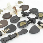 1X Faux Leather and Horn Toggle Tab Closures DIY Sewing Jacket Cashmere Button