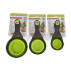 Collapsible Pet Cat Rabbit Dog Food Scoop Spoon Measuring Cup Sealing Clip Hot