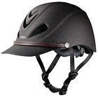 Внешний вид - TROXEL DAKOTA GRIZZLY BROWN WESTERN SAFETY RIDING HELMET LOW PROFILE HORSE