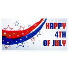 Patriotic Happy Independence Day Party Banner Decoration