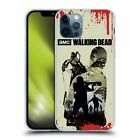 OFFICIAL AMC THE WALKING DEAD SILHOUETTES SOFT GEL CASE FOR APPLE iPHONE PHONES