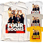 Four Rooms V1 , movie poster, T SHIRT YELLOW NATURAL KHAKI all sizes S to 5XL