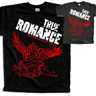 True Romance V3, movie poster, T SHIRT BLACK GRAPHITE all sizes S to 5XL