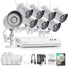 Funlux 1080p 8CH/ 4CH NVR 720p Outdoor Camera Video Home Security System 1TB HDD