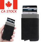 Mens Womens Aluminum Slim ID Credit Card RFID Protector Holder Purse Wallet CA