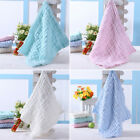 2X Soft Cotton Baby Infant Newborn Squre Bath Towel Washcloth Feeding Wipe Cloth