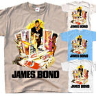James Bond: Live and Let Die V4, movie 1973, T-Shirt (WHITE) All sizes S to 5XL $18.0 USD on eBay