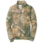 Russell Outdoors Men's 1/4-Zip Fleece Pullover Sweatshirt, Realtree Xtra Camo