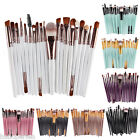 20Pcs 15cm Makeup Brushes Set Pro Powder Blush Foundation Eyeshadow Eye Cosmetic