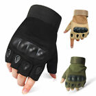 Men Tactical Mechanic Hard Knuckle Gloves Army Military Combat Airsoft Paintball
