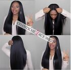Silky Straight Human Hair Lace Front Wigs Straight Full Lace Wigs Black Women