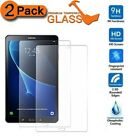 "2 PACK TEMPERED GLASS FOR SAMSUNG GALAXY TAB A6 7"" T280 A 9.7"" T550 TAB E 9.6"""