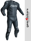 RST Tractech Evo 3 CE BLACK Motorcycle Leather Jacket Track Race 2051