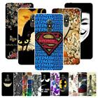 "For Alcatel A7 5090 5090Y 5.5"" Soft Gel Case Cover Love Girl Blossom Mask Smile"