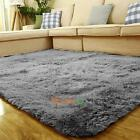 Soft Fluffy Anti-skid Shaggy Area Rug Home Bedroom Floor Mat Seat Cover Gift