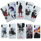 Slim Clear Watercolor Tokyo Ghoul Anime Phone Case Cover For iPhone X 6/7/8 Plus