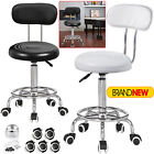 Adjustable Beauty Spa Salon Stool Barber Tattoo Hairdresser Chairs Black / White