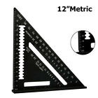 7'' Aluminum Alloy Triangle Angle Protractor Speed Square Measuring Ruler Miter